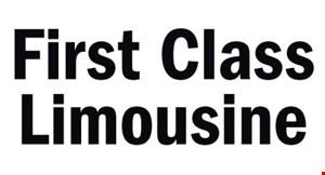 First Class Limousine logo