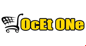 Ocet One- Shopping...That's What We Do! logo