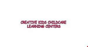 Creative Kids Childcare logo