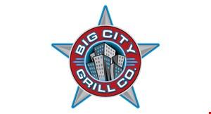Big City Grill logo