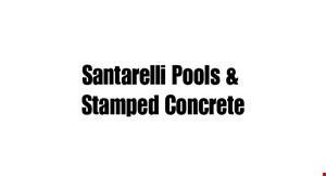 Santarelli Pools & Stamped Concrete logo