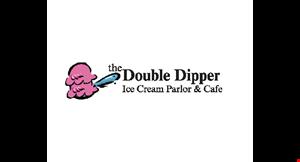 The Double Dipper Ice Cream Parlor & Cafe logo