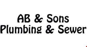 AB & Sons Plumbing & Sewer logo