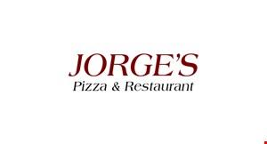 Jorge's Pizza & Restaurant logo