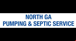 North Ga Pumping and Septic Service logo