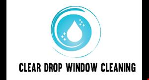 Clear Drop Window Cleaning logo