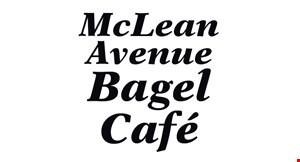 Mclean Ave Bagel Cafe logo