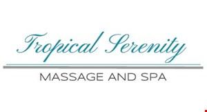 Tropical Serenity Massage & Spa logo