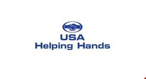 USA Helping Hands logo
