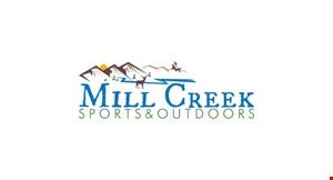 Mill Creek Sports &  Outdoors logo