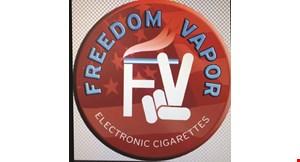 Freedom Vapor E-Cigs logo