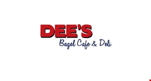 Dee's Bagel Cafe logo