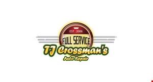 TJ Crossman's Auto Repair logo