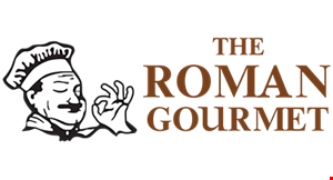 The Roman Gourmet logo