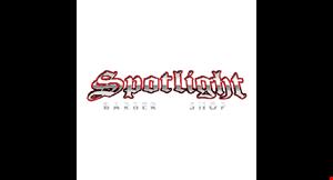 Spotlight Barbershop logo