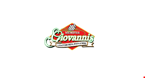 GIOVANNI'S MENIFEE logo