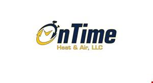 On Time Heat & Air, LCC - Mercer County logo