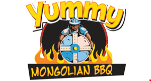 Yummy Mongolian BBQ logo