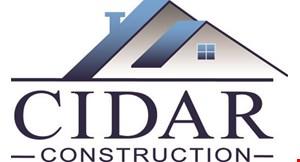 Cidar Construction logo