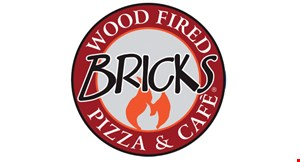 Bricks Wood  Fired  Pizza &  Cafe logo