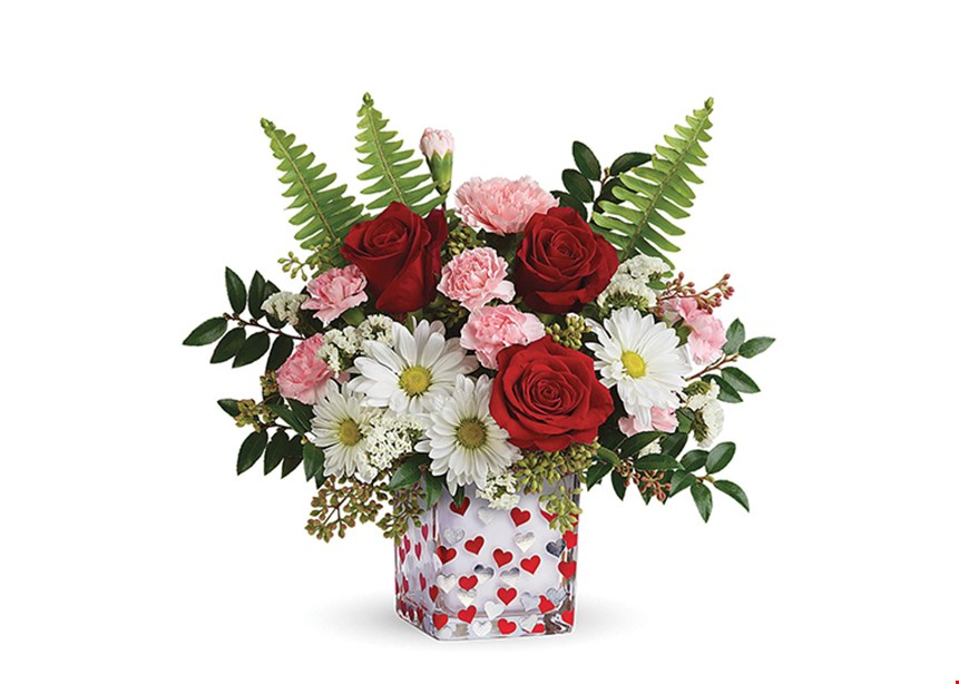 Product image for Neffsville Flower Shoppe 25% OFF your in-store or online purchase online use coupon code TULIP when placing yourorder online for local pick-up and delivery only,single use code/coupon may not be combinedwith other offers or used on sale merchandise.