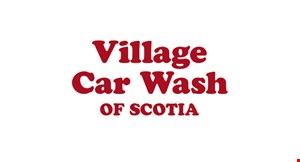 Village Car Wash of Scotia logo