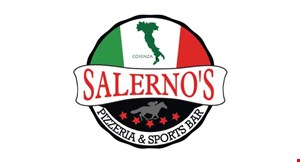 Product image for Salerno's Pizzeria & Sports Bar $12 OFF any food purchase of $50 or more carryout or delivery.