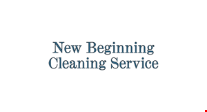 New Beginning  Cleaning Service logo
