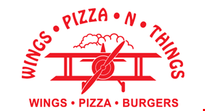 Wings Pizza and Things Express logo