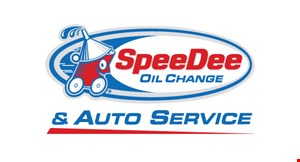 Speeder Oil Change logo