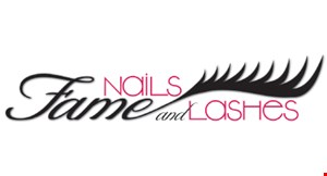 Fame Nails & Lashes logo