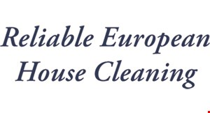 Reliable European House Cleaning logo