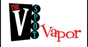 The V Spot Vapor logo