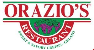 Orazio's Italian Crepes & Gelato logo