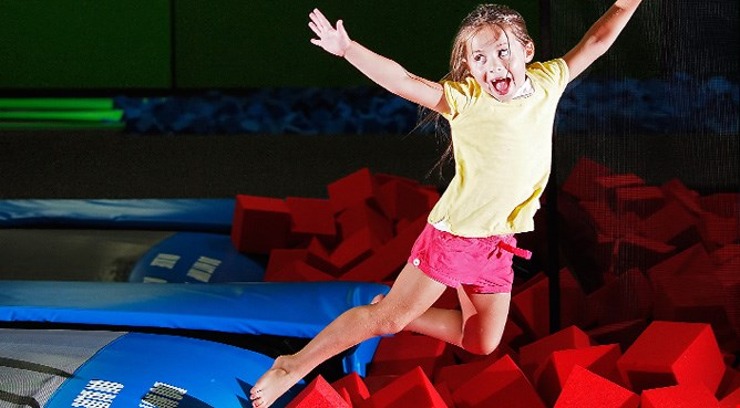 Product image for Bounce! Trampoline Sports $5 OFF any purchase of $25 or more.