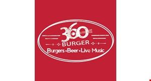 360 Burger logo