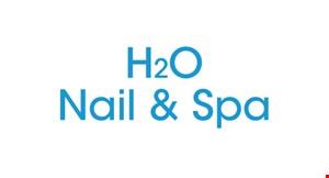 H2O Nail and Spa logo