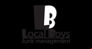 Local Boys Junk Removal logo