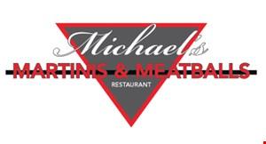 Michael's Martinis & Meatballs Restaurant logo