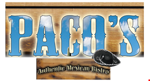 Paco's Authentic Mexican Bistro logo