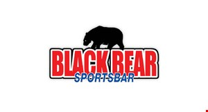 Black Bear Sportsbar logo