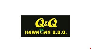 Q & Q Hawaiian BBQ logo