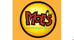 Product image for Moe's Southwest Grill - Warren $10 For $20 Worth Of Casual Southwest Dining