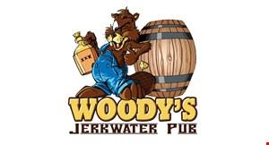 Woody's Jerkwater Pub & Grub logo