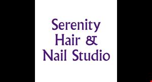 Serenity Hair and Nail Studio logo