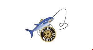 Reel Seafood Co. logo
