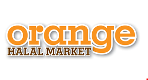 Orange Halal Market logo