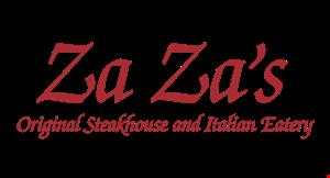 Za Za's Steak House & Italian Eatery logo