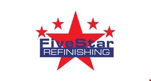 Five Star Refinishing logo