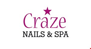 Craze Nails & Spa logo
